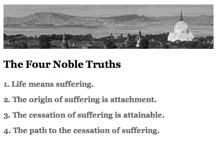 Four Noble Truths Symbol